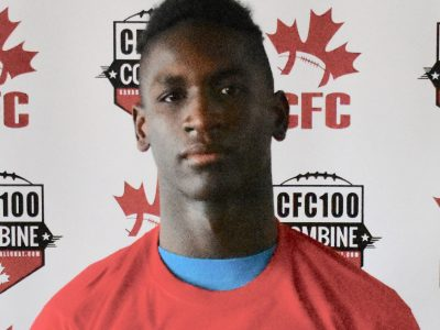 CFC100 DB De Land potent athlete for Team Dunigan