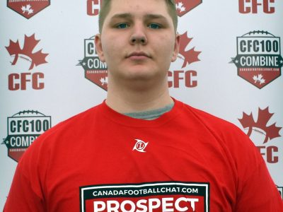 CFC100 OL Pyle ready to battle for Team Dunigan