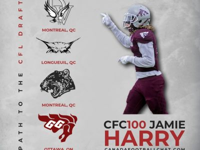 Path to the Draft: Ball hawk specialist CFC100 Jamie Harry