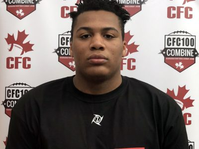 CFC100 Friesen dominant in the trenches for Team Burris