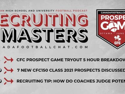 Seven CFC150 Class 2021 ready for the scouts | Recruiting Masters Podcast Ep. 6