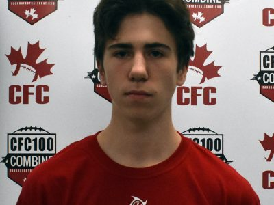 CFC100 QB Tremblay ready to lead Team Dunigan