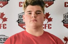 CFC100 OL Anderson dual-threat in the trenches for Team Burris
