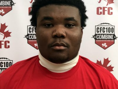 CFC Prospect Game Q&A with CFC100 OL Olaniran