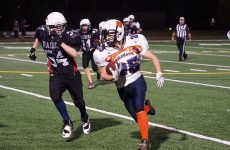 Quick and shifty, RB Jacob Kneeland is hard to bring down