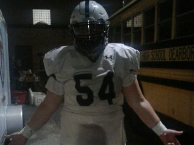 OL Quinten Clewlow looking for another championship