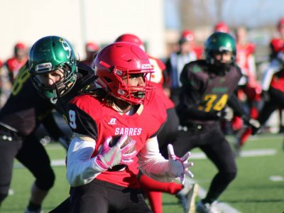 RB Siebert runs with power and heart for Sexsmith