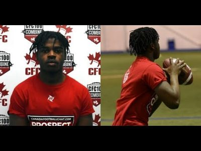 QB David Bahufite dual-threat under centre in CEGEP | Player Profile Spotlight May 10th