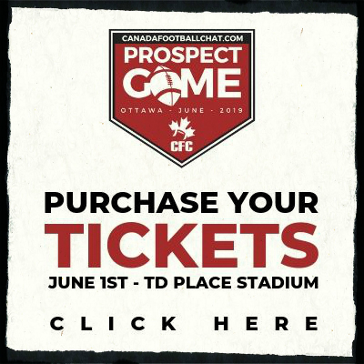 PURCHASE TICKETS HERE – Canadafootballchat.com Prospect Game