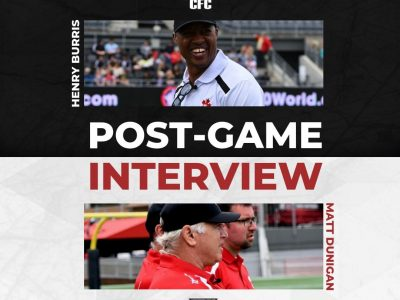 Henry Burris and Matt Dunigan Post-Game at the CFC Prospect Game (AUDIO)