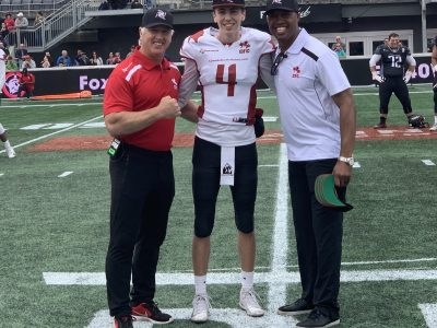 CFC100s QB Sam and WR Caleb Tremblay | Intros with Kato Ep.22