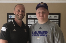 Laurier coaches selling point for commit