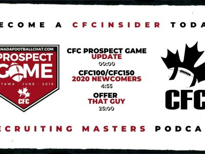 More CFC100/CFC150 Class 2020 newcomers | Recruiting Masters Podcast Ep. 16