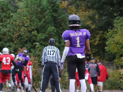 Raheem Balogun Jr. has confidence written all over himself
