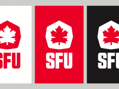 SFU Reps the Leaf in new look for sports teams