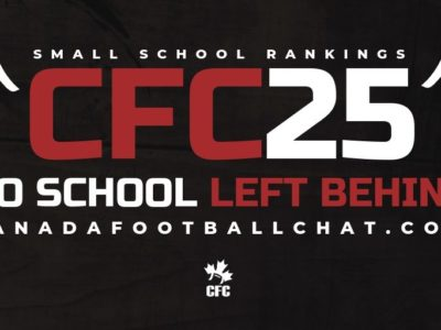 CFC25 2019 Small School RANKINGS (1): For the first time, CFC ranks 'small schools' nationally