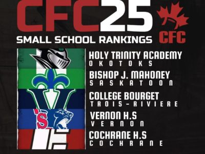 CFC25 2019 Small School RANKINGS (4): 3 new teams get ranked after weekend's performance