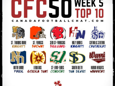 CFC50 2019 High School RANKINGS (5): Upsets in the West see 2 top 10s plummet, 2 new teams ranked