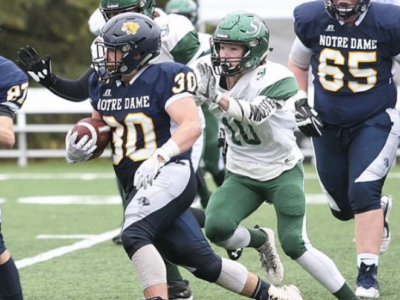 "LB Jaxyn Flunder going to do ""damage"" in Red Deer"