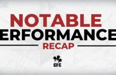 2019 CFC Notable Performances (3): RB Medernach runs wild in Saskatoon
