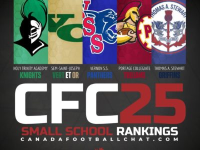 CFC25 2019 Small School RANKINGS (8): Top 5 remains the same as playoffs loom