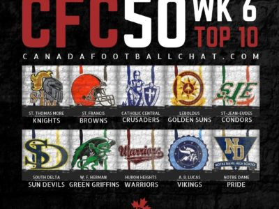 CFC50 2019 High School RANKINGS (6): Wild weekend of CFC50 matchups shakes list top to bottom
