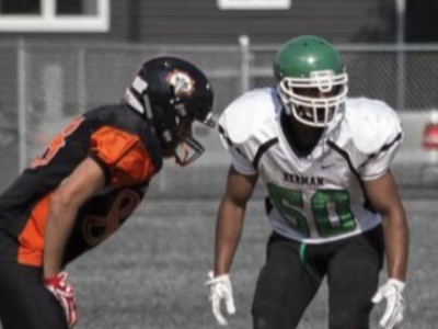 Encouraging football family is how Tayvin Spina found his home on the gridiron
