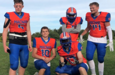 DE Tyler Cameron plays for his Father's unreached football dream