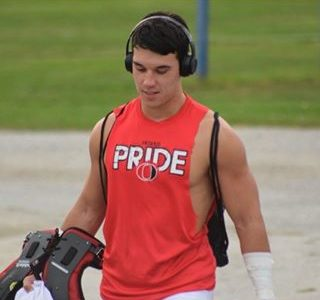DB Draven Maiato loves the physical play at his position