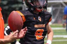 CB Luigi Zagaria's motivated to make it, in football and in school