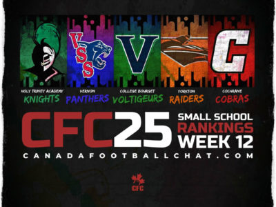CFC25 2019 Small School RANKINGS (12): QC, MB crowns provincial champions, new top 5