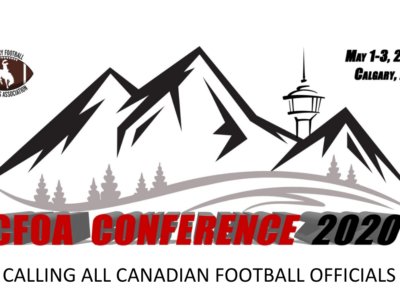 CALLING ALL CANADIAN FOOTBALL OFFICIALS