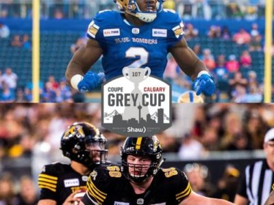 107th Grey Cup festivities feature 9 CFC100s