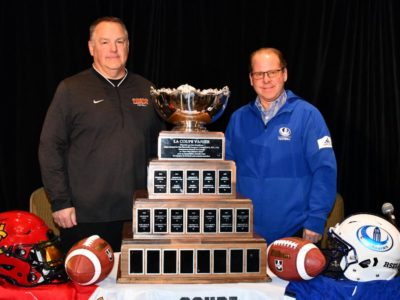 U SPORTS Football Weekend Watch: A head-to-head look at the  55th Vanier Cup presented by Promutuel Insurance