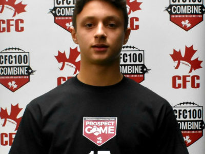 CFC Youth Game QB Lio dominant on the field and in the classroom