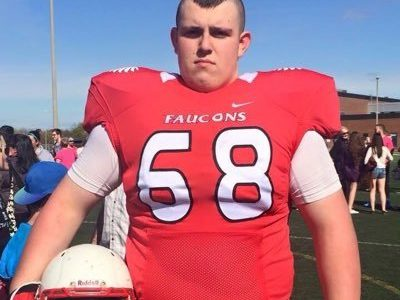 CFC60 OL Paradis makes it official on NCAA Early Signing Day