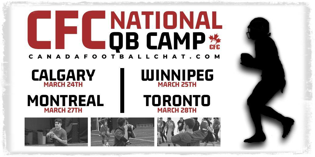 REGISTER NOW: CFC National QB Camp