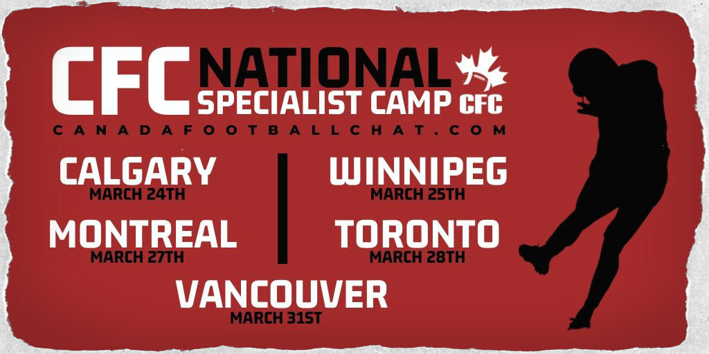 REGISTER NOW: CFC National Specialist Camp (K/P/LS)