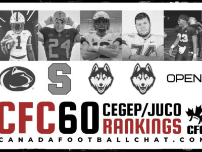 CFC60 February 2020 CEGEP/JUCO RANKINGS