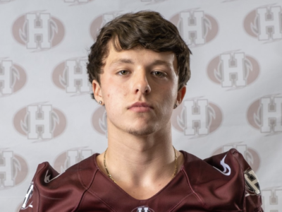 DB Machacynski proud to be a football player