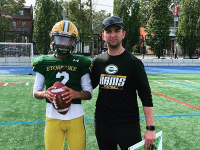 QB Mohammed has a competitive edge