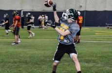 No offseason for RB Bourget