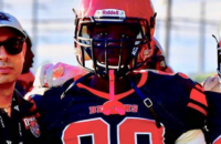 CFC100 DT Blanc knew from first catch football was for him