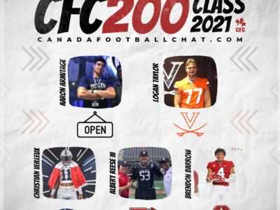 CFC200 Class 2021 4th Edition PLAYER RANKINGS