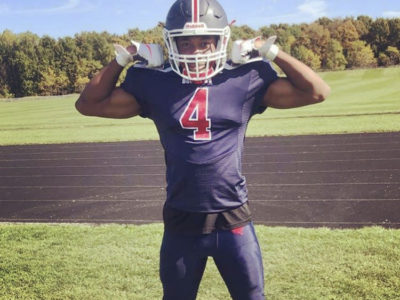 CFC200 LB Kalume has eyes on OFSAA at Saint Andre Bessette