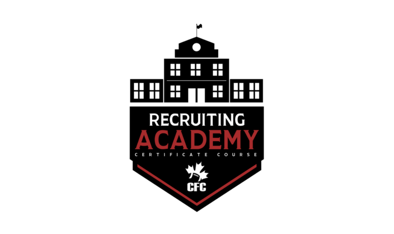 Recruiting Academy (REGISTRATION CLOSED … JOIN THE WAITING LIST!)