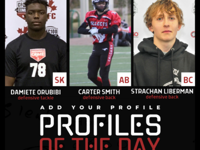 Profiles of the Day | October 16th