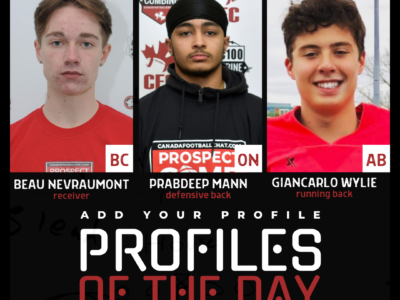Profiles of the Day | October 19th