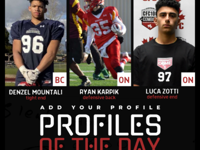 Profiles of the Day | October 30th