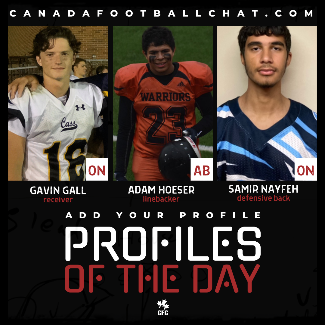 Profiles of the Day | November 2nd